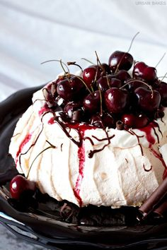 Black Forest Pavlova | URBAN BAKES