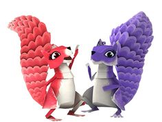Squirrels, Discovery, Group, Kids, Kids Discovery, Chipmunks, Young Children, Boys, Children