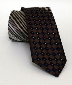Brown Mens Tie 5,5 cm (2,17 #handmadeatamazon #nazodesign