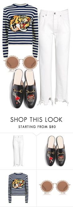 """""""Untitled #4244"""" by dkfashion-658 on Polyvore featuring Gucci and House of Holland"""