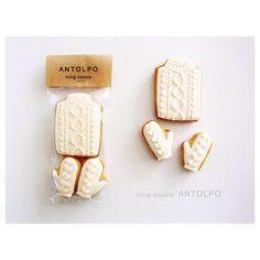 セーター手袋アイシングクッキー