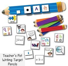 One of our most popular free and unique Teacher's Pet resources at the moment is our 'Writing Target Pencils'! http://displays.tpet.co.uk/#/ViewResource/id696 Have you tried these in your KS1 classroom yet?