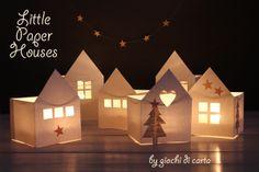 little paper houses