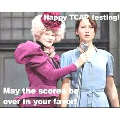 TCAP :/, at least this is the last year of TCAPs!! :) @Cindy Taylor