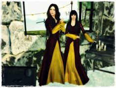 Looking butterflies and fireflies: C&N Medieval Clothes April Gift...