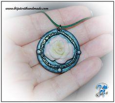 pastel rose Pastel Roses, Crochet Earrings, Pendant Necklace, Jewelry, Jewellery Making, Jewels, Jewlery, Jewerly, Jewelery
