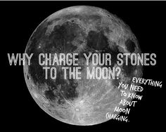 Everything You Need To Know About Moon Charging Your Crystals