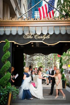 #98 #New York City #NYC #Wedding #The Carlyle #Bride #Dress #Bouquet