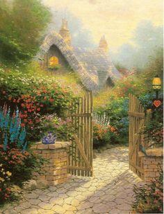Peintres americains Thomas KINKADE