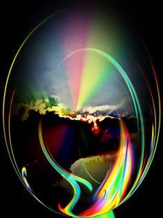 'Sonnenuntergang' von Walter Zettl bei artflakes.com als Poster oder Kunstdruck $18.03