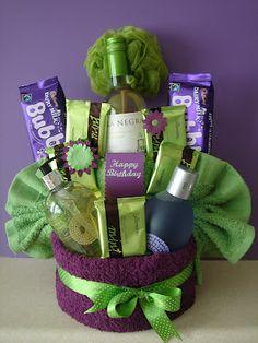 pamper cake (teacher gift)