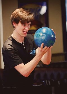 Matt Smith bowling. This might be one of my favorite photos :)
