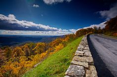 Skyline Drive in Shenandoah Valley, VA.  I visited here with my family when I was younger.  We lived in southern VA at the time.
