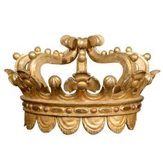 Gilded Italian Crown