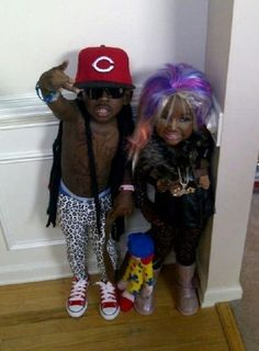 LIL WAYNE AND NIKKI For Halloween... yes i think so