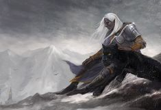 Drizzt in mountains by ~CG-Warrior on deviantART