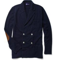 Ralph Lauren Purple Label Double-Breasted Cashmere Cardigan | MR PORTER