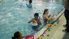"""Underwater"" Easter egg ""hunt"" Egg Hunt, Underwater, Easter Eggs, Tub, Chicago, Events, Holidays, Outdoor Decor, Bathtubs"