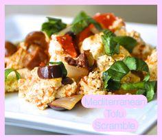 Week 1- Mediterranean Tofu Scramble