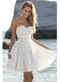Lovely Sweetheart Lace  Latest Crystal Short Summer Dress Homecoming Dress  Homecoming Gowns vestidos graduacion