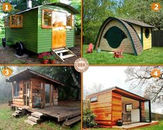 """Do you need a backyard getaway? If you could have just one of these, which would it be? Find your dream backyard getaway by viewing our """"Not Just a Shed"""" album on our site at http://theownerbuildernetwork.co/shed-dreaming/sheds/ How would you spend your """"me"""" time in your backyard getaway?"""