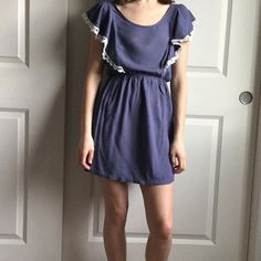 LUSH summer dress. Size S. LUSH summer dress. Size S. Purple color. Only worn a couple times. No rips or stains. Lush Dresses
