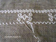 Lavanda e Lillà: Punto Madama Blackwork Embroidery, Embroidery Works, Types Of Embroidery, Modern Embroidery, Hand Embroidery Designs, Cross Stitch Embroidery, Embroidery Patterns, Embroidery Stitches Tutorial, Bargello