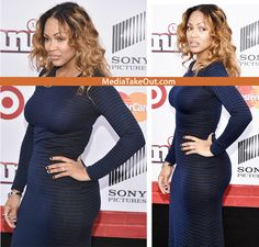 Actress Meagan Good Wears a FREAKUM DRESS To The Premiere Of Annie . . . But We Ask You . . . To Please Refrain From LUSTING AFTER THIS WOMAN . . . She Is Married To A PREACHER YOU KNOW!!!