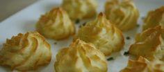 Toefjes aardappelpuree (Pommes Duchesse)   Lekker Tafelen