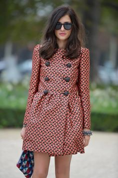 Back in the '60s with Eleonora Carisi in REDValentino. Recreate Eleonora's look on any budget here.
