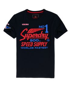 Shop Superdry Mens Retro Surf T-shirt in Washed Carban Grey. Buy now with free delivery from the Official Superdry Store. Superdry Style, Superdry Mens, Tourist Outfit, Retro Surf, Sari Design, Tee Shirt Homme, Wear Store, Brand Collection, Slim Jeans