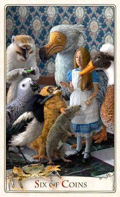 Six of Coins - Alice Tarot
