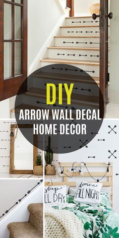 DIY Home Decor - A tiptop compilation resource on home styling arrangements. Key note - post idea unit 8125292457 assigned on this moment 20190912 Hallway Decorating, Decorating Your Home, Diy Home Decor, Entry Hallway, Cross Designs, Wall Decals, Gallery Wall, Stairs, In This Moment
