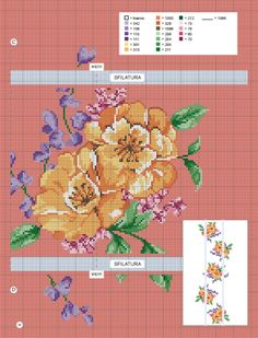 Cross Stitch Flowers, Cross Stitch Patterns, Embroidery Stitches, Map, Floral, Beauty, Poppies, Softies, Cross Stitch Embroidery