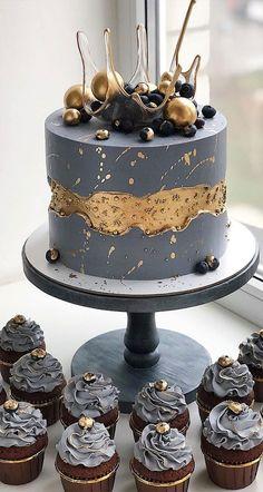 Candy Birthday Cakes, Sweet 16 Birthday Cake, Special Birthday Cakes, Elegant Birthday Cakes, 18th Birthday Cake, Beautiful Birthday Cakes, Designer Birthday Cakes, Chocolate Birthday Cakes, Black And Gold Birthday Cake