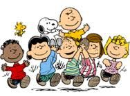 The comic strip Peanuts was an American classic. The comic would showcase in every Sunday newspaper. The show franchised into memorabilia and movies.  http://history1900s.about.com/od/1950s/qt/peanuts.htm