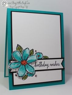 You can see more information and free instructions for making this card on my blog here:  http://stampwithamyk.com/2015/10/23/stampin-up-garden-in-bloom-birthday-wishes/