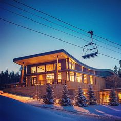 This is the all-new Elk Camp Lodge at #Snowmass. It opens next Thursday. You're going to be blown away.