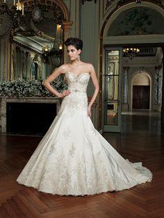 David Tutera for Mon Cheri Bridal - 212250-Laney. I adore this dress!