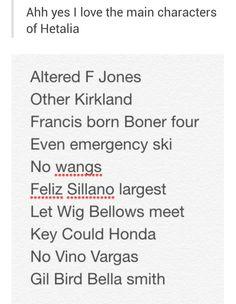 Hetalia - Francis born Boner four xD