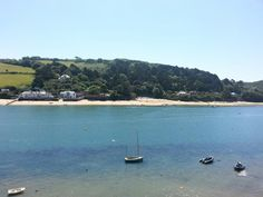 Salcombe estuary, looking across to East Portlemouth. Photo by Helen Lecomber