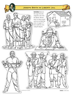 Joseph Smith Childhood Coloring Pages