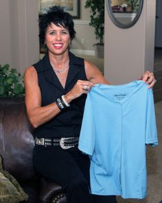 Patented post operative heal in comfort shirt for post mastectomy, internal pockets to hold the drains. I designed it after going through it.