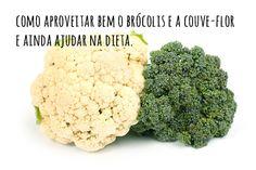 Como conservar o brócolis e a couve-flor por mais tempo, aproveitar os talos, e ainda uma receita de arroz low-carb - dcoracao.com - blog de decoração