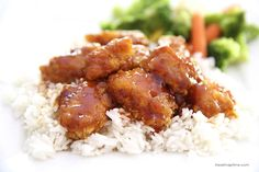"Hello friends! Happy Tuesday! I am excited to share this sweet and sour chicken recipe that I made over the weekend. It was SO good! My whole family loved it. This recipe is definitely going in my ""favorites file."" I have to admit… I'm usually not a huge fan of Chinese food when we go …"