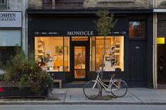 Monocle Shop, Avenue Road, Retail Inspiration