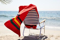 We've long been fans of Pendleton's iconic blankets, so we're naturally coveting these beach towels featuring the brand's Native American-inspired patterns.