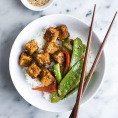 Jamaican Jerk Tofu Stir Fry