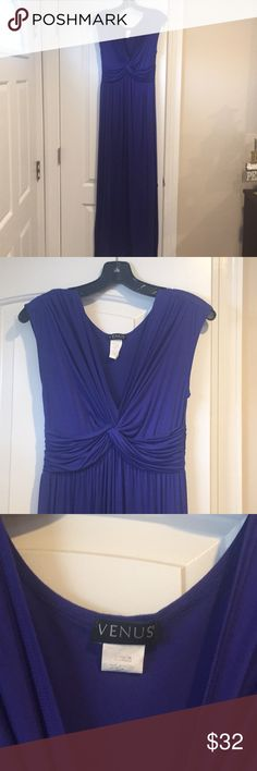 Venus  maxi dress This purple Venus maxi dress is very comfortable. Only worn twice. Excellent condition! VENUS Dresses Maxi