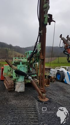 Used Montabert Crawler Drill H100 for sale. Mining and Tunneling Machines from Germany Picture Montabert Drill Rig H100 #baumaschine #Bohrmaschine #Mineria #Mining #Equipment #scooptram #LHD #construction